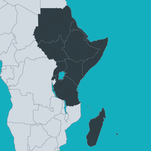 Map Of Eastern African Countries.Regions East Africa Citizenship Rights In Africa Initiative